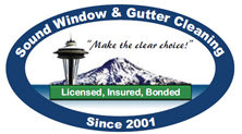 Sound Window and Gutter Cleaning